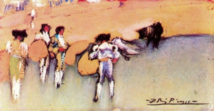 bullfighters-and-bull-waiting-for-the-next-move-1900