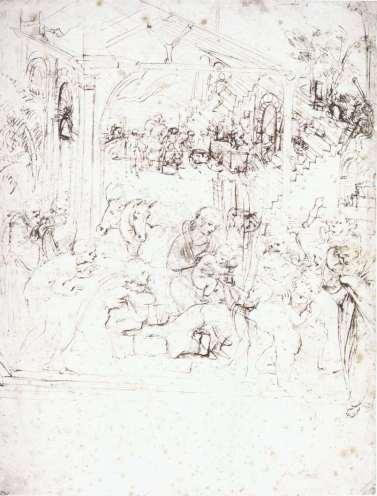 study-for-the-adoration-of-the-magi