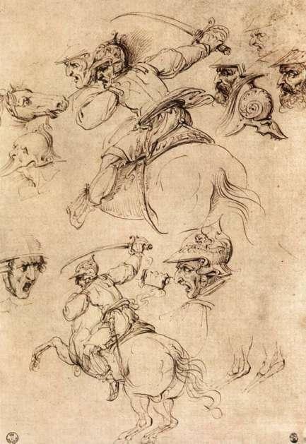 study-of-battles-on-horseback