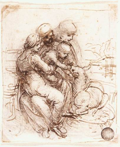 study-of-st-anne-mary-the-christ-child-and-the-young-st-john