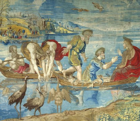 the-miraculous-draught-of-fishes-cartoon-for-the-sistine-chapel