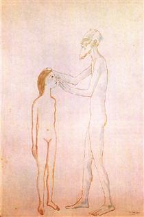 blind-man-and-girl-1904.jpg!Pintere