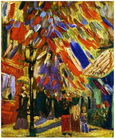 Fourteenth-of-July-Celebration-in-Paris,-The