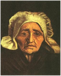 Head-of-an-Old-Peasant-Woman-with-White-Cap