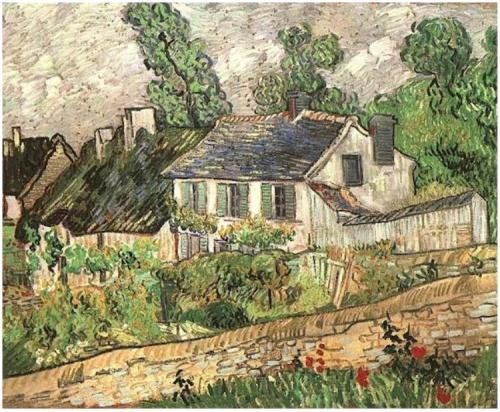 Houses-in-Auvers (1)