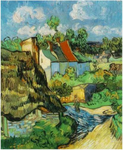 Houses-in-Auvers