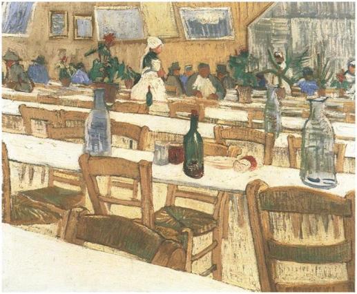 Interior-of-the-Restaurant-Carrel-in-Arles