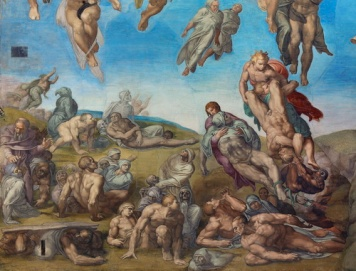 Michelangel_giudizio_universale_Resurrezione_dei_corpi
