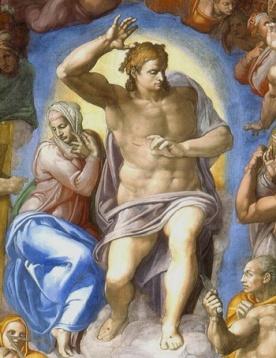 Michelangelo_Cristo_Juiz_detail