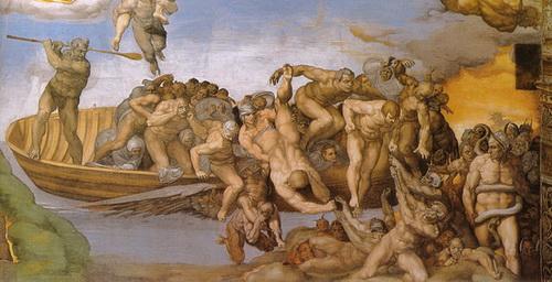 Michelangelo_giudizio_universale_inferno